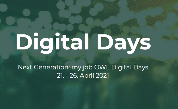 my job OWL Digital Days: 21. - 26. April 2021
