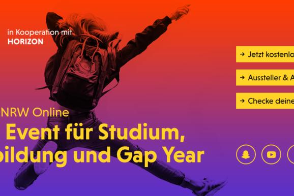 Einstieg NRW Online - Dein Event für Studium, Ausbildung und Gap Year