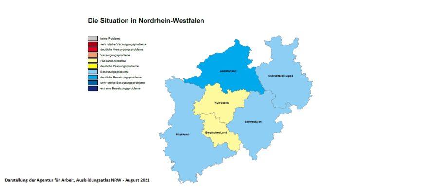 Ausbildungsatlas NRW 2021 ist online